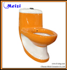 Orange color ceramic one piece high flow toilets