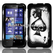 Spade Skull Cell Phone Case for Nokia Lumia 620