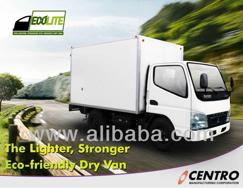 Brand New Mitsubishi FE71 Ecolite Dry Van