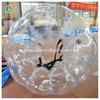 Transparent inflatable body human bumper ball bubble football