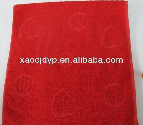 Eco friendly soft hemp organic cotton towel