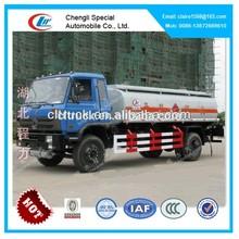 DongFeng 145 capacity fuel tank truck, truck aluminum fuel tanks