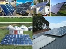 RoHS certificated 1200W solar power system for fridge,computer, TV, fan, light 12KW solar cell batteries