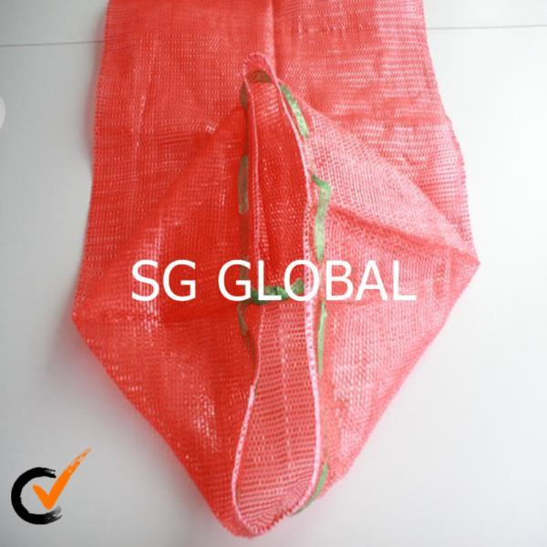 PP leno mesh net bag for fruit and vegetable