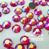 Fashion Desgin Iron-on SS16 AB Siam Color HotFix Rhinestones For Accessory