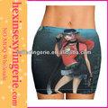 新しいデザインショートブループリントセクシーなジーンズのスカート