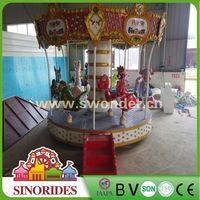 Kiddie 9 Seat Carousel!! outdoor merry go round ride,outdoor merry go round ride for sale