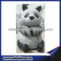 Animal Panda Statue/Sculpture Made Of Solid Granite Stone On Sale