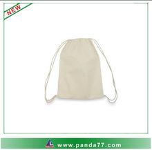 Hot sell waterproof fashion small cotton drawstring bag