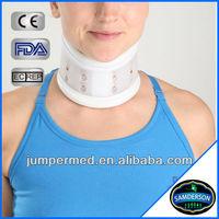 adjustable plastic hard cervical collar