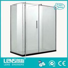 Distinctive brass pivot russian shower room