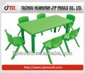 injection plastique moule pour le moulage des étudiants de table et une chaise