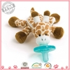 Hot sale The cheapest funny pacifier,baby pacifier,baby plush pacifier