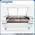 Cw-1810f de alimentación automática de corte y máquinas de grabado para la tela/pantalones vaqueros/pieles de skype: szchanxan
