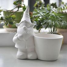 garden gardening,paintable Ceramic Gardeni