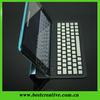 For ipad Mini Black Bluetooth Wireless Keyboard Leather Keyboard Case