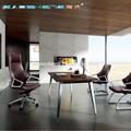 Gs-g1900 moderna de cuero de la oficina de mobiliario de oficina muebles