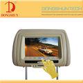 """Travesseiro 7"""" encostos de dvd do carro tampa"""