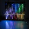 Beautiful rgbw custom fiber optic waterfall light curtain
