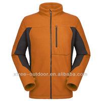 new style salable fashion plain navy fleece jackets