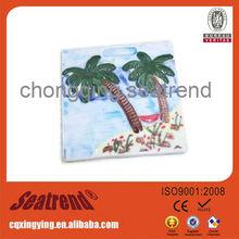Custom ceramic tourist souvenir fridge magnets