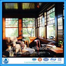 glass reception window