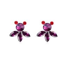 9167 Latest indian bridal jewellery photos zircon earring