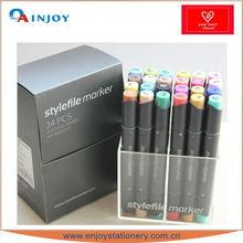 multi color marker pen