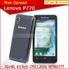 Hot selling lenovo p770 dual sim android 4.1 lenovo brand cell phone