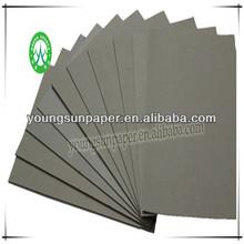 2015 grey paper book cover/duplex card board
