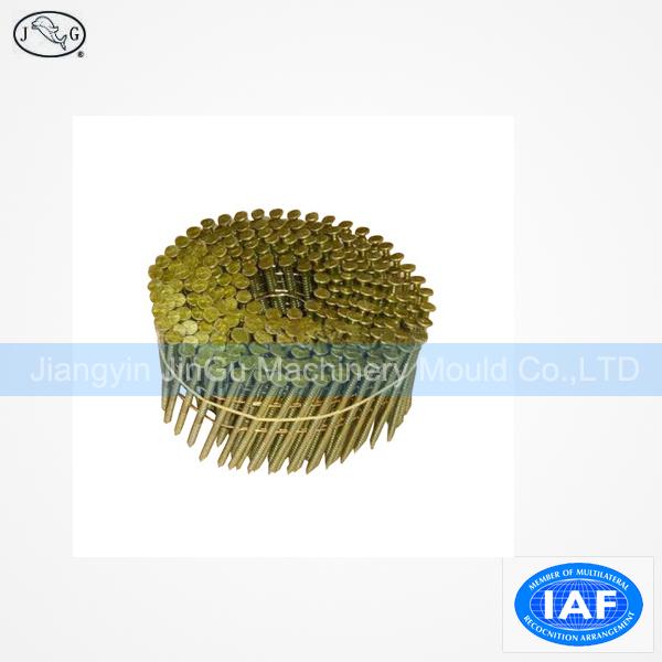 3.33*90mm Ring Shank Coil Nail