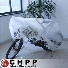 waterproof plastic peva bike cover