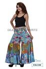 3188 Cotton boho harem pant Boho style baggy pants balloon casual shirred waist pants Silk Harem shirred waist Trouser