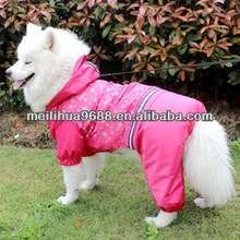 Pet Clothes Wholesale Waterproof Large Dog Raincoat
