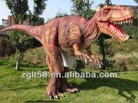 hide legs walking with dinosaur costume