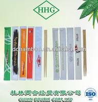 hot sale 21-24cm sosei disposable bamboo chopstick