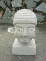 Cimento branco estátua- buda estátua de cimento