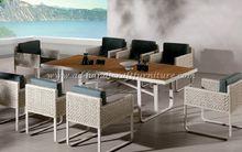 poly rattan coffee table