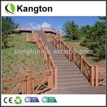Preuve de l'eau WPC platelage WPC terrasse extérieure modèles en bois clôtures
