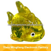 de ventilación pegajosa juguetes de pescado