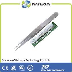 Vetus ST-13 pointed eyelash extension tweezers for eyebrow