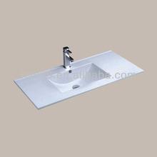 China Factory Ceramic Cabinet Wash Hand Basin Types of Lavatory