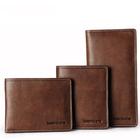 2015 Men's Full Grain Vintage Style Genuine Leather Wallet