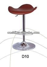 modern wooden bar stools swivel steel bar chair(D10#)