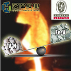 Replace ferro vanadium alloy with vanadium nitrogen to reduce cost and produce better steel 9