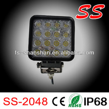 3450LM 48W Super Bright LED Work Light for Offroad/cob led car dome light
