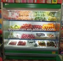 Supermarket Fruit and Vegetable Display Showcase
