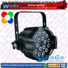 18x15w LED PAR light (rgbaw 5-in-1) / Stage dj lighting / DJ Party&Disco Show stage equipment system