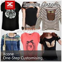 womens 100% cotton t shirt,woman slim tee shirt