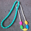 Teething Necklace Chic BPA Free teething beads,silicone teething beads,silicone teething beads for jewelry